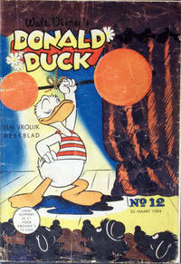 Cover Thumbnail for Donald Duck (Geïllustreerde Pers, 1952 series) #12/1954