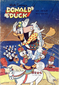 Cover Thumbnail for Donald Duck (Geïllustreerde Pers, 1952 series) #24/1954