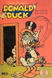 Cover Thumbnail for Donald Duck (Geïllustreerde Pers, 1952 series) #3/1953