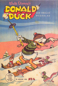 Cover Thumbnail for Donald Duck (Geïllustreerde Pers, 1952 series) #4/1953