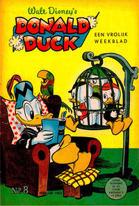 Cover Thumbnail for Donald Duck (Geïllustreerde Pers, 1952 series) #8/1953