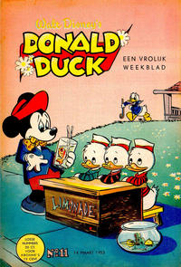 Cover Thumbnail for Donald Duck (Geïllustreerde Pers, 1952 series) #11/1953