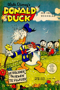 Cover Thumbnail for Donald Duck (Geïllustreerde Pers, 1952 series) #18/1953