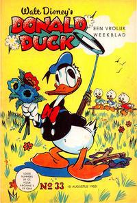 Cover Thumbnail for Donald Duck (Geïllustreerde Pers, 1952 series) #33/1953