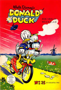 Cover Thumbnail for Donald Duck (Geïllustreerde Pers, 1952 series) #35/1953