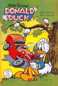 Cover Thumbnail for Donald Duck (Geïllustreerde Pers, 1952 series) #43/1953