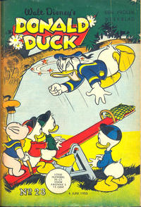 Cover Thumbnail for Donald Duck (Geïllustreerde Pers, 1952 series) #23/1955