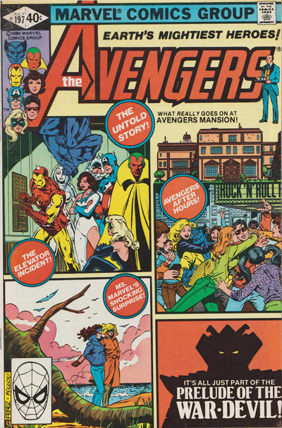 Cover for The Avengers (Marvel, 1963 series) #197 [Direct Edition]