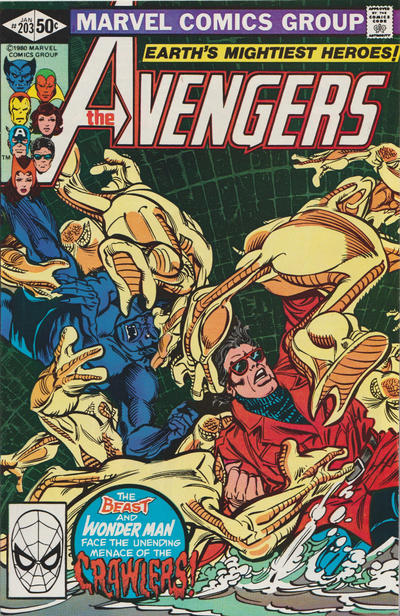 Cover for The Avengers (Marvel, 1963 series) #203 [Direct Edition]