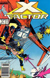 Cover for X-Factor (Marvel, 1986 series) #17 [Newsstand]