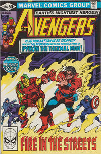 Cover Thumbnail for The Avengers (Marvel, 1963 series) #206 [Direct Edition]