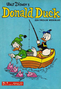 Cover Thumbnail for Donald Duck (Geïllustreerde Pers, 1952 series) #9/1970