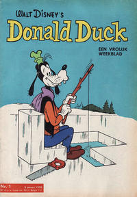 Cover Thumbnail for Donald Duck (Geïllustreerde Pers, 1952 series) #1/1970