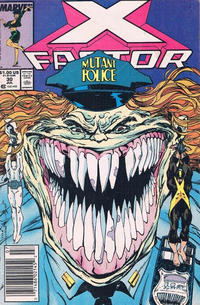 Cover Thumbnail for X-Factor (Marvel, 1986 series) #30 [Newsstand]
