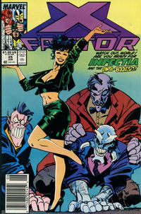 Cover for X-Factor (Marvel, 1986 series) #29 [Direct Edition]