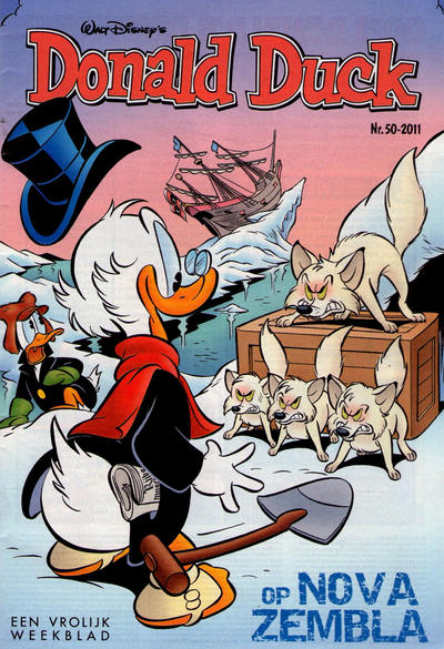 Cover for Donald Duck (Sanoma Uitgevers, 2002 series) #50/2011