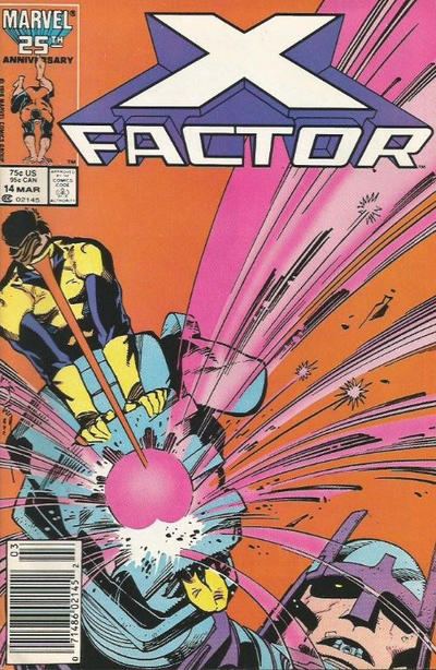 Cover for X-Factor (Marvel, 1986 series) #14 [Direct Edition]