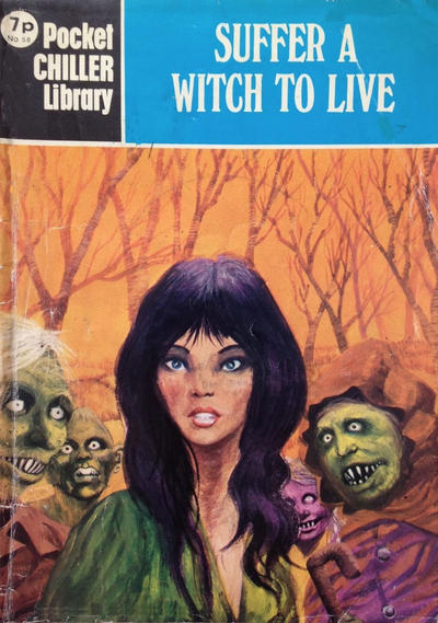 Cover for Pocket Chiller Library (Thorpe & Porter, 1971 series) #58