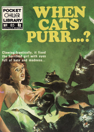 Cover for Pocket Chiller Library (Thorpe & Porter, 1971 series) #85
