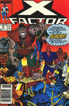 Cover Thumbnail for X-Factor (1986 series) #41 [Newsstand Edition]