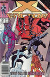 Cover Thumbnail for X-Factor (1986 series) #43 [Newsstand]