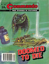 Cover Thumbnail for Commando (D.C. Thomson, 1961 series) #2417