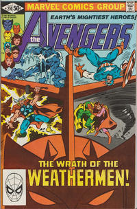 Cover Thumbnail for The Avengers (Marvel, 1963 series) #210 [Direct Edition]
