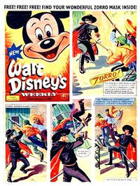 Cover Thumbnail for Walt Disney's Weekly (Disney/Holding, 1959 series) #v1#2