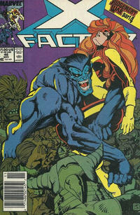 Cover Thumbnail for X-Factor (Marvel, 1986 series) #46 [Newsstand]