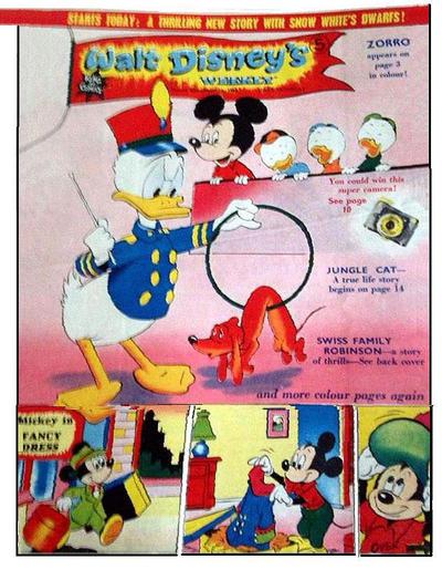 Cover for Walt Disney's Weekly (Disney/Holding, 1959 series) #v2#52