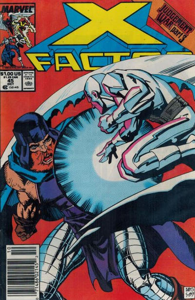 Cover for X-Factor (Marvel, 1986 series) #45 [Direct]