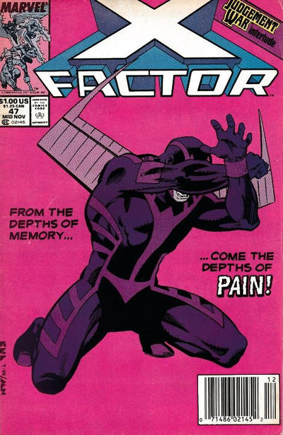 Cover for X-Factor (Marvel, 1986 series) #47 [Direct]