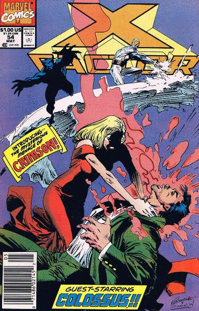 Cover for X-Factor (Marvel, 1986 series) #54 [Direct Edition]