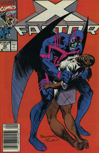 Cover for X-Factor (Marvel, 1986 series) #58 [Direct Edition]