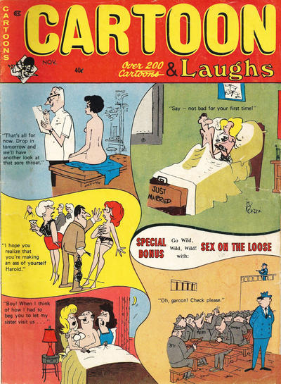 Cover for Cartoon Laughs (Marvel, 1962 series) #v9#6