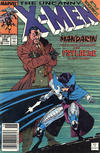 Cover Thumbnail for The Uncanny X-Men (1981 series) #256 [Newsstand Edition]