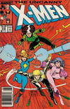Cover for The Uncanny X-Men (Marvel, 1981 series) #218 [Newsstand]