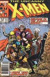 Cover Thumbnail for The Uncanny X-Men (1981 series) #219 [Newsstand Edition]