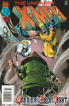 Cover Thumbnail for The Uncanny X-Men (1981 series) #329 [Newsstand Deluxe Edition]