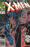 Cover Thumbnail for The Uncanny X-Men (1981 series) #220 [Newsstand Edition]