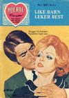 Cover for Hjerterevyen (Serieforlaget / Se-Bladene / Stabenfeldt, 1960 series) #1/1974