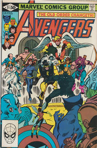 Cover Thumbnail for The Avengers (Marvel, 1963 series) #211 [Direct Edition]