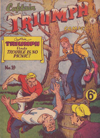 Cover Thumbnail for Captain Triumph Comics (K. G. Murray, 1947 series) #19