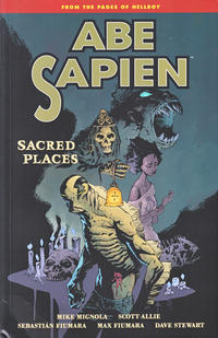 Cover Thumbnail for Abe Sapien (Dark Horse, 2008 series) #5 - Sacred Places