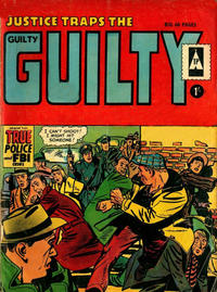 Cover Thumbnail for Justice Traps the Guilty (Thorpe & Porter, 1965 series) #2