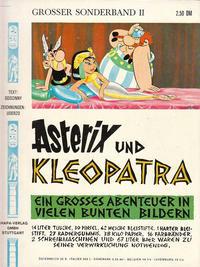 Cover Thumbnail for Asterix (Egmont Ehapa, 1968 series) #2 - Asterix und Kleopatra [2. Aufl. 1969]