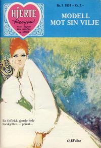 Cover Thumbnail for Hjerterevyen (Serieforlaget / Se-Bladene / Stabenfeldt, 1960 series) #7/1974