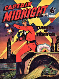 Cover Thumbnail for Captain Midnight (L. Miller & Son, 1950 series) #124