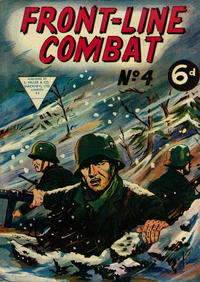 Cover Thumbnail for Front-Line Combat (L. Miller & Son, 1959 series) #4