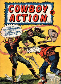 Cover Thumbnail for Cowboy Action (L. Miller & Son, 1956 series) #11